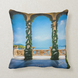 Arches of Italy Throw Pillow