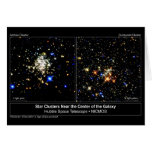 Arches & Quintuplet Star Clusters Greeting Cards