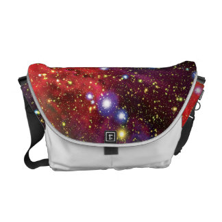Arches Star Cluster Colorful Artist Impression Courier Bag