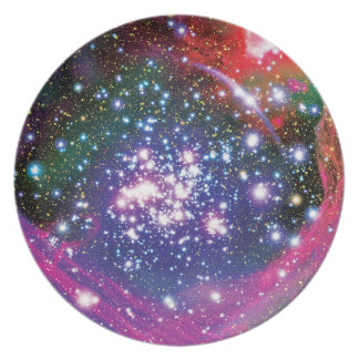 Arches Star Cluster Dinner Plate