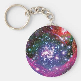 Arches Star Cluster Basic Round Button Keychain