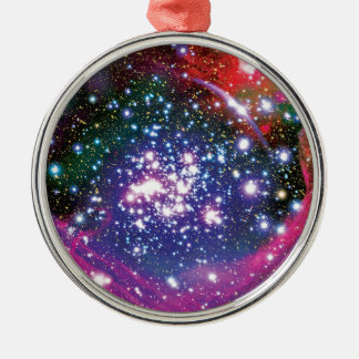 Arches Star Cluster Metal Ornament