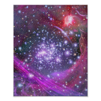 Arches star cluster poster
