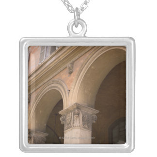 Arches, Venice, Italy Silver Plated Necklace