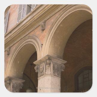 Arches, Venice, Italy Square Sticker