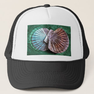 Archetypal maritime structures trucker hat
