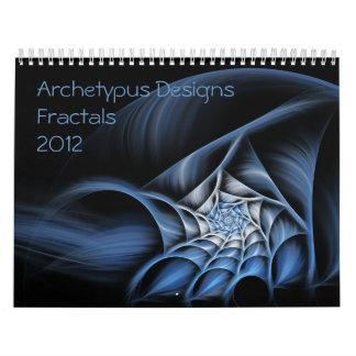 Archetypus diseña el calendario del arte del fract