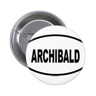 ARCHIBALD 2 INCH ROUND BUTTON