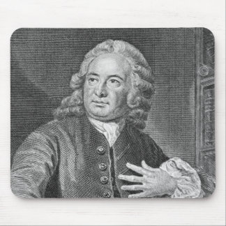 Archibald Bower, engraved by J. Hollonray Mouse Pad