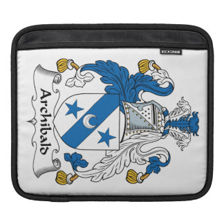 Archibald Family Crest Sleeve For iPads