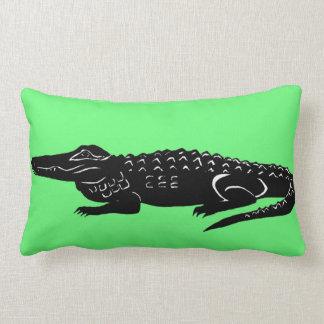 Archibold the American Alligator Lumbar Pillow
