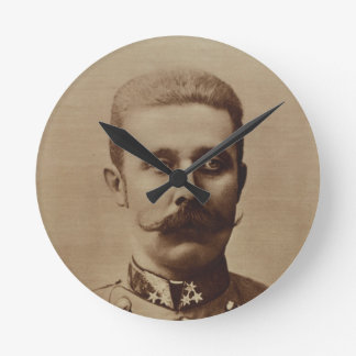Archiduque Francisco Fernando de Austria Reloj Redondo Mediano