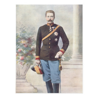 Archiduque Francisco Fernando de Austria Tarjeta Postal