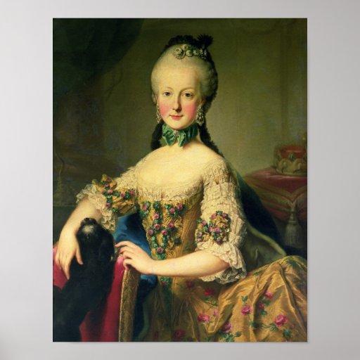 Archiduquesa Maria Elisabeth Póster