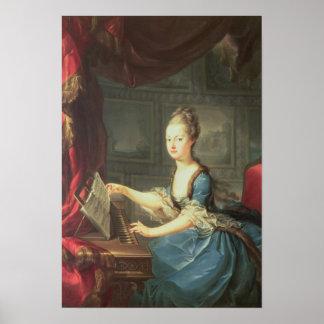 Archiduquesa Marie Antonieta Habsburgo-Lothringen Poster