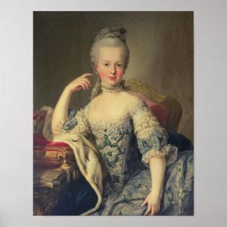 Archiduquesa Marie Antonieta Póster