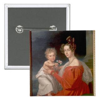 Archiduquesa Sophia de Austria Pin Cuadrado