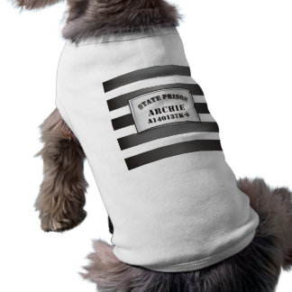 Archie - Camiseta de la camiseta de la prisión del Playera Sin Mangas Para Perro