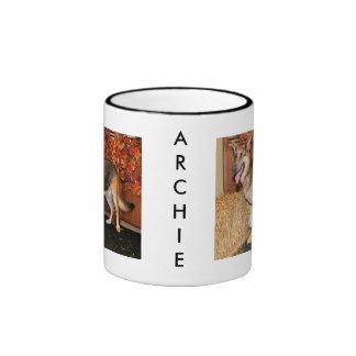 Archie - German Shepherd - Nissan Ringer Mug
