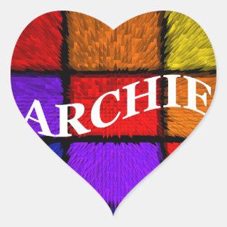 ARCHIE HEART STICKER