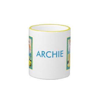Archie - Jack Russell Rat Terrier Mix -6 Ringer Mug
