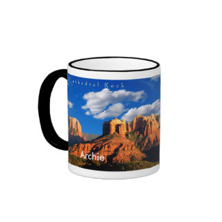 Archie on Cathedral Rock and Courthouse Mug