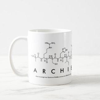 Archie peptide name mug