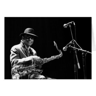 Archie Shepp 1 by P. Baud Banlieues Bleues 2010 GC Card
