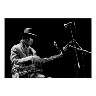 Archie Shepp 1 by P. Baud Banlieues Bleues 2010 P2 Poster