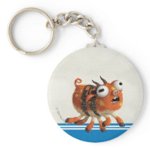 Archie the Pig Keychain