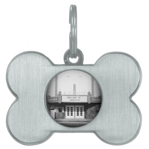 ARCHIE THEATER - ABBEVILLE, ALABAMA PET NAME TAG