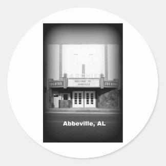 ARCHIE THEATER - ABBEVILLE, ALABAMA STICKER