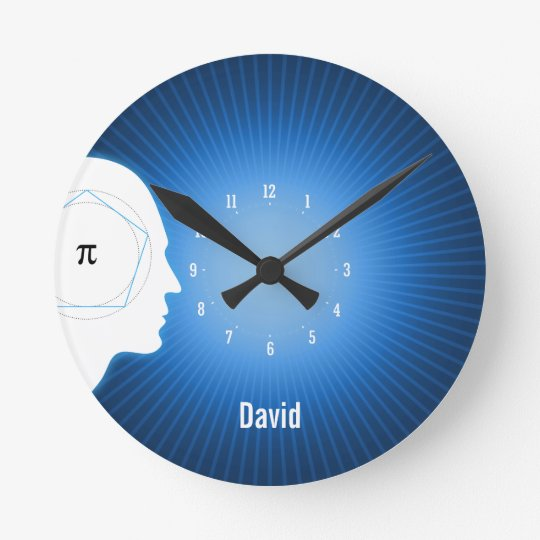 Archimedes' Approximation of Pi | Geek Wall Clock