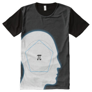 Archimedes' Approximation of Pi | Math All-Over Print T-shirt