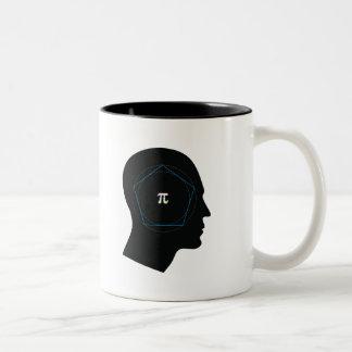 Archimedes' Approximation of Pi - mug