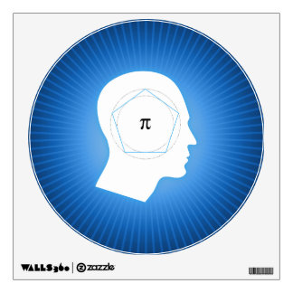Archimedes' Approximation of Pi   Wall Decals