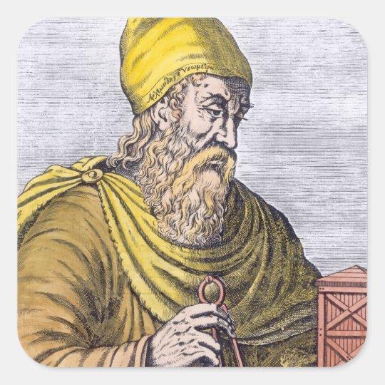 Archimedes Square Sticker