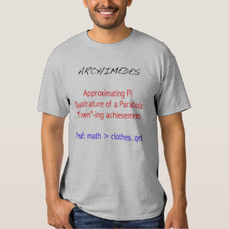 Archimedes Tribute T-shirt