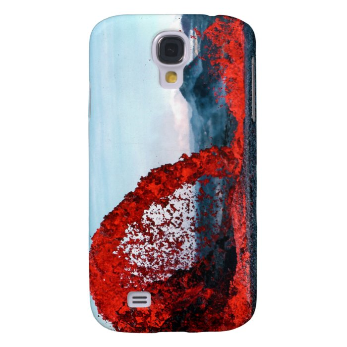 Arching Fountain of Lava Pahoehoe Volcano Galaxy S4 Cases