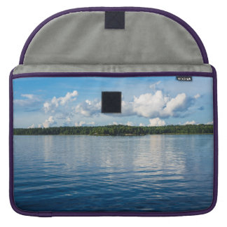 Archipelago on the Baltic Sea coast in Sweden Sleeve For MacBooks
