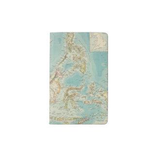 Archipiélago asiático 2 funda para libreta y libreta pequeña moleskine