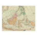 Archipiélago asiático 3 tarjeta postal