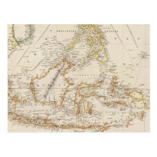 Archipiélago asiático tarjetas postales