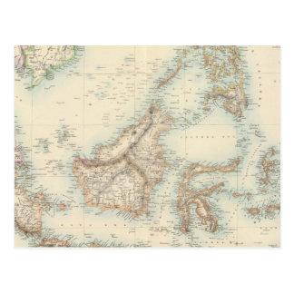 Archipiélago indio tarjeta postal