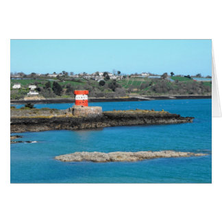 Archirondel tower in springtime, Jersey Greeting Cards