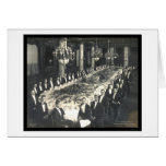 Architect Banquet DC Photo 1907 Greeting Cards