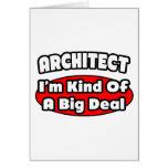 Architect...Big Deal Card