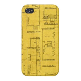 Architect Blueprint Plans Iphone 5 Case Cover