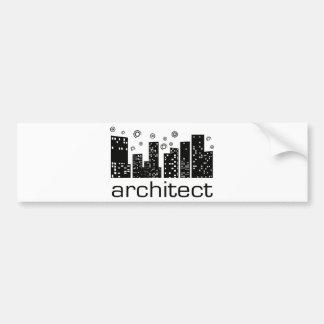 Architect Buildings Cool design! Bumper Sticker
