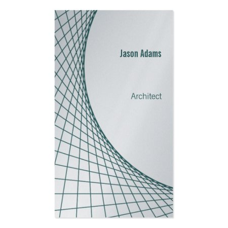 Abstract Architectural Designs Business Cards
